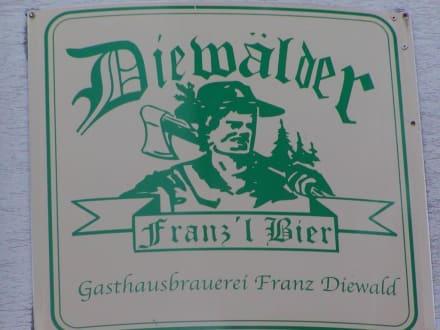 """Eigenbräu """"Franz'l Bier"""" - Restaurant Waldpension Diewald"""