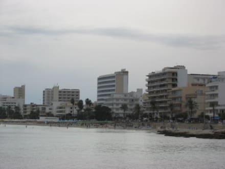 Am Strand von Cala Millor - Strand Cala Millor