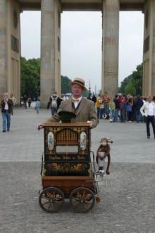 Leierkastenspieler - Brandenburger Tor
