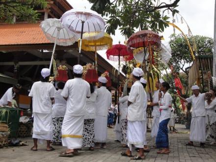 Einblick in die Feierlichkeiten eines Tempelfestes - Tempelfest