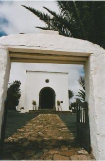 Der Weg zur Kirche - Ermita de Las Nieves