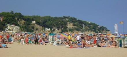 Strandleben - Strand Lloret de Mar