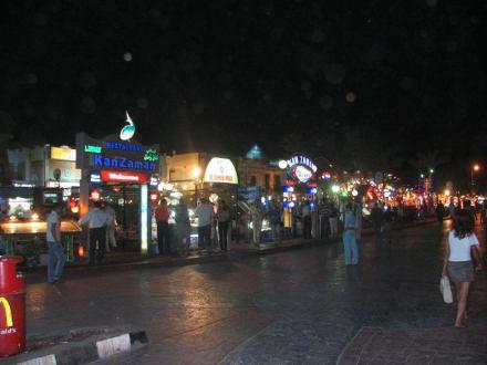 Naama Bay bei Nacht - Einkaufen & Shopping