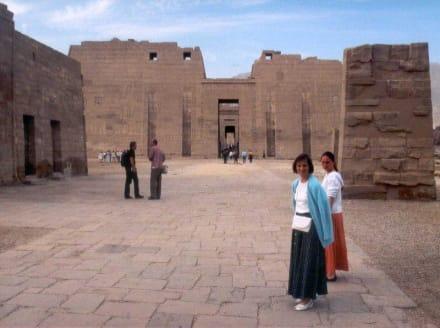 Habu-Tempel - Tempelanlage Medinet Habu