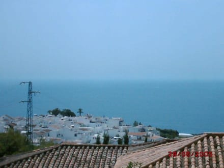 Blick auf das mittelmer - Strand Nerja