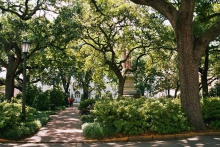 in der Altstadt von Savannah - Altstadt Savannah