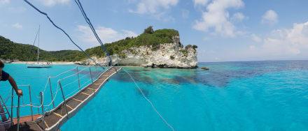 Bootsausflug nach Paxos und Antipaxos  - Schiffsrundfahrt Paxos-Antipaxos