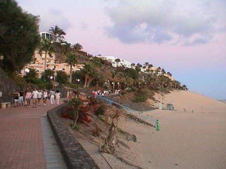 Morro Jable, Strandpromenade - Strandpromenade Morro Jable