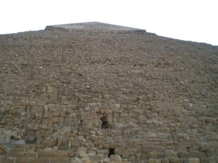 Mittlere Pyramide - Pyramiden von Gizeh
