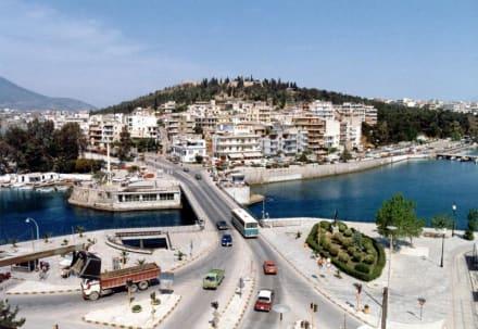 Die kleine Brücke von Chalkis - Alte Brücke