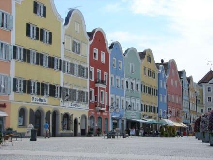 Häuserzeile am Marktplatz - Marktplatz