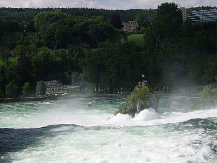 Fluss/See/Wasserfall - Rheinfall von Schaffhausen