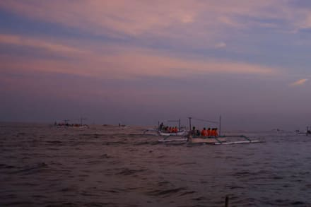 Sonnenuntergang - Lovina Beach