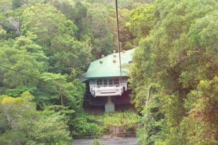 Eine der Zwischenstationen - Skyrail Rainforest Cableway