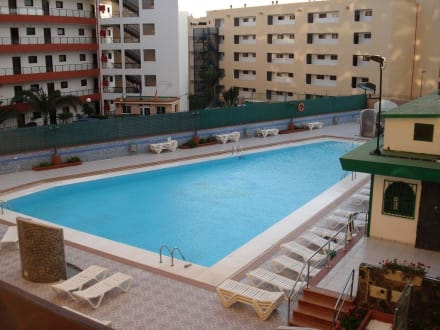 Ausblick Pool - Hotel Las Arenas