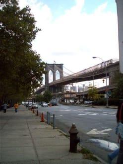 Sonstige Sehenswürdigkeit - Manhattan Bridge