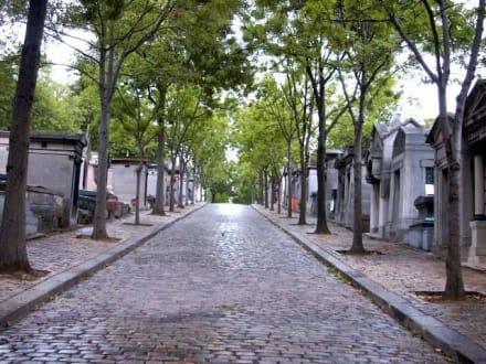 Avenue auf dem Pére Lachaise - Père Lachaise