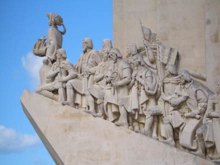 Denkmal Heinrich des Seefahrers - Padrao dos Descobrimentos / Denkmal der Entdecker
