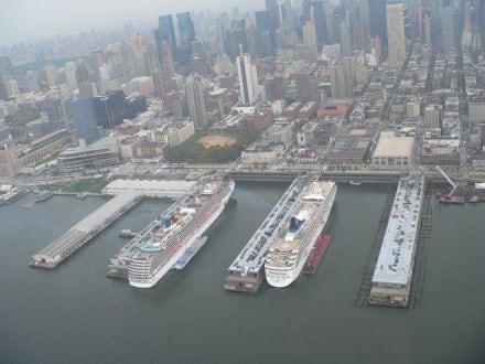 Blick aus dem Helikopter - Helikopter-Rundflug New York