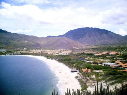 Playa Pedro Gonzales bzw. Strand vom Hotel Dunes - Strände Isla Margarita