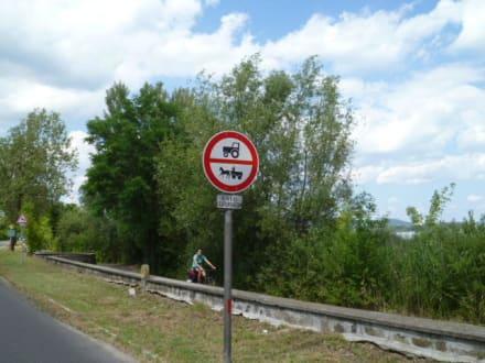 Verkehrszeichen - Balatonfüred