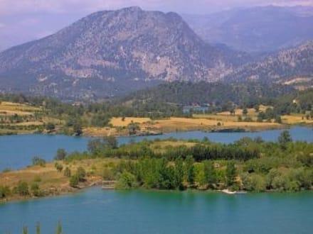 Manavgat Stausee / Atatürk-Berg - Oymapinar Baraji/ Stausee Green Lake & Green Canyon