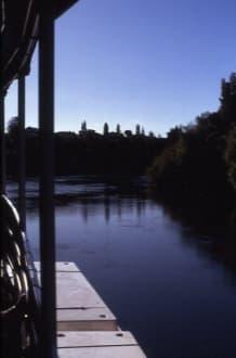Stimmungsbild auf dem Waitomo River - Waitomo River
