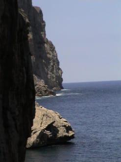Sa Calobra Klippen - Bucht Sa Calobra / Torrent de Pareis