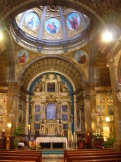 Im Inneren der Klosterkirche - Santuari de Lluc