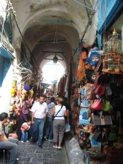 Gedränge in nden engen Gassen - Altstadt Tunis