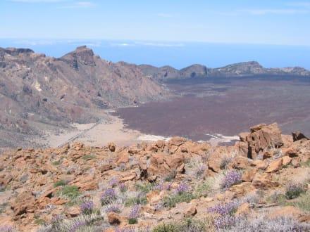 Canadas, Blick vom Guajara - Teide Nationalpark