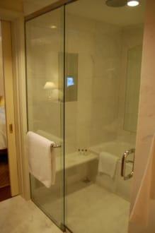 gemauerte dusche bild hotel park hyatt in ho chi minh stadt saigon vietnam vietnam. Black Bedroom Furniture Sets. Home Design Ideas