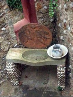 Waschbecken im Bad - La Granja