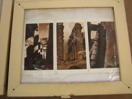 So soll es hier mal ausgesehen haben. - Amonstempel Karnak