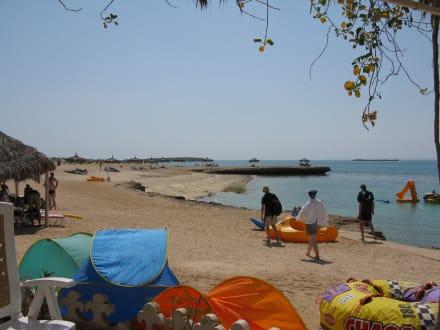 Strand - Moucha Resort Le Lagon Bleu