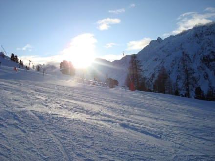 Skipiste in Ischgl - Skigebiet Ischgl