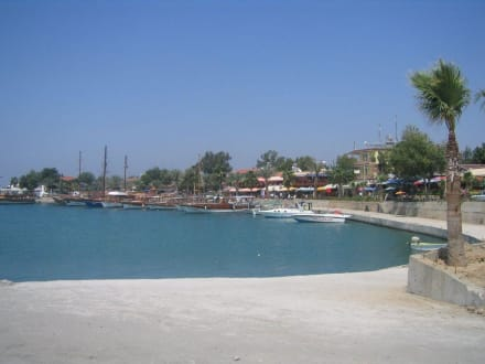 Hafen von Side - Hafen Side