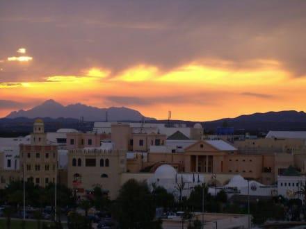 Sonnenuntergang - Medina