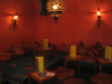 Kuschelige Sitzecken - Blauer Adler / Oriental Bar