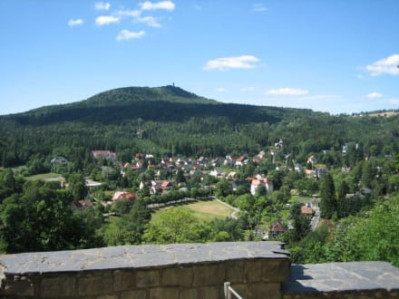 Blick vom Berg Oybin - Zittauer Gebirge