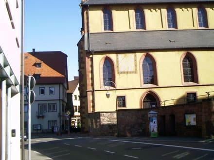 Stiftskirche aus Richtung Taubertal - Stiftskirche