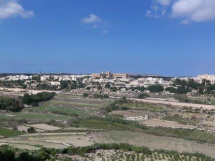Schöne Aussicht von den Stadtmauern - Stadtmauer