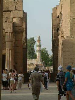 Karnak und Luxor Tempel - Luxor Tempel