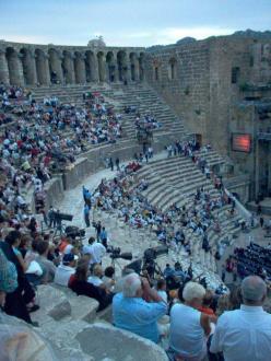 """""""Wetten dass?"""" - Theater von Aspendos"""