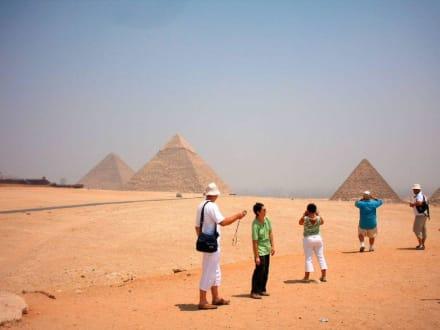 Tolle Aussicht - Pyramiden von Gizeh