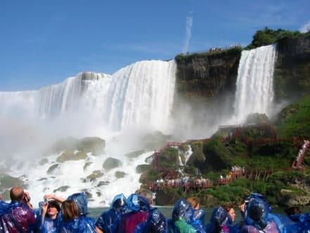 Die amerikanischen Fälle - Niagarafälle / American Falls