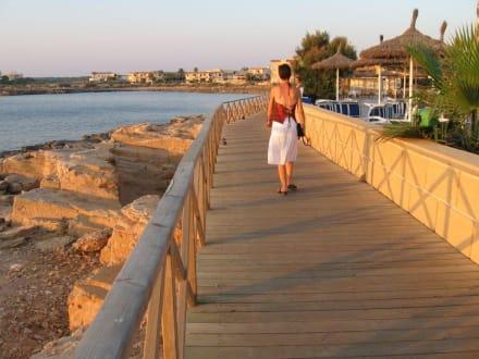 Abendstimmung - Hafenpromenade Colonia Sant Jordi