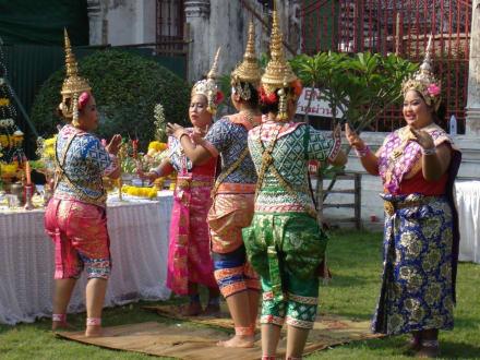 Fünf Grazien - Wat Arun