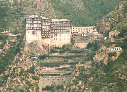Ausflug zum Berg Athos - Kloster Moni Simonos Petras
