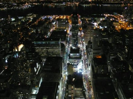 NY bei Nacht - Empire State Building